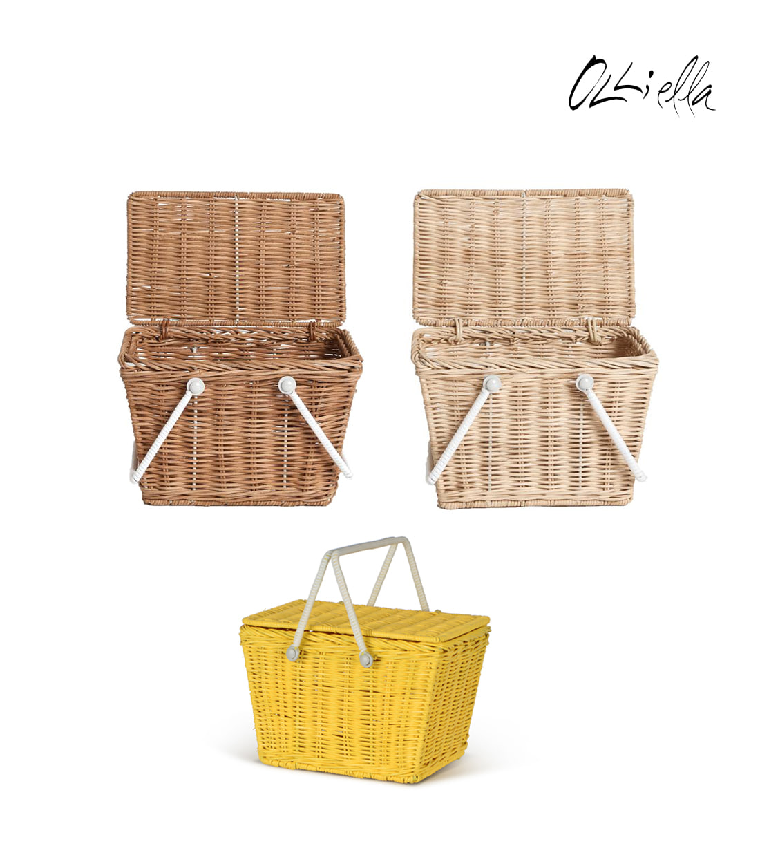 올리엘라 PIKI BASKET / 3 COLORS