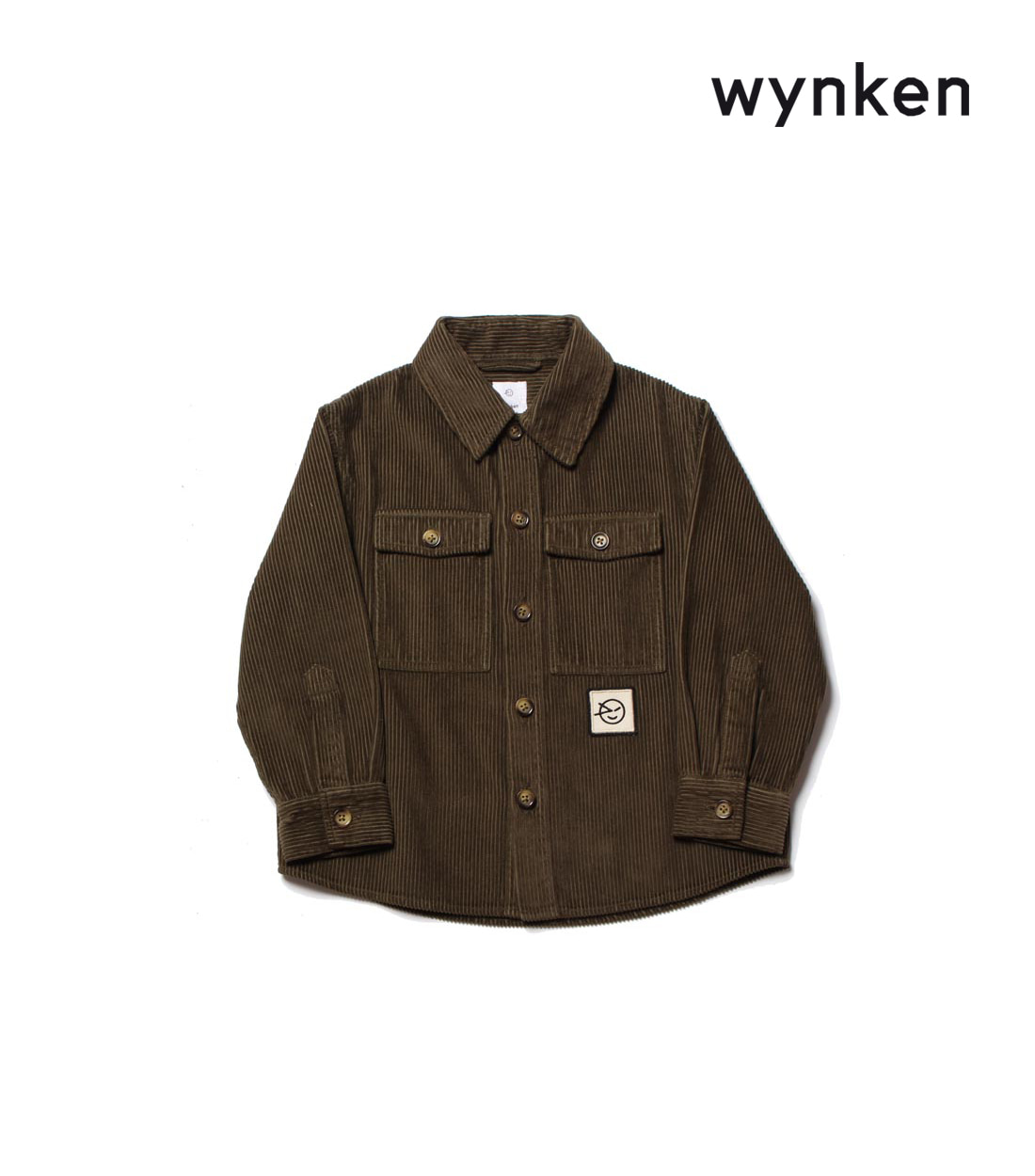 윙켄 OVERSHIRT / ARMY GREEN JUMBO CORD