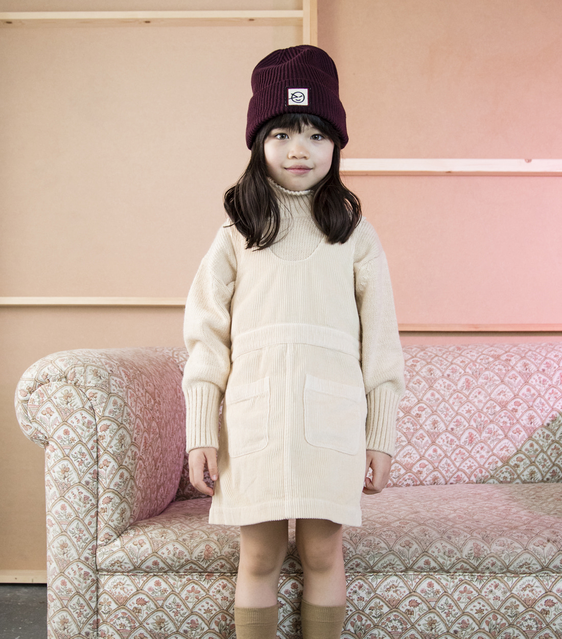 윙켄 PINAFORE / 2 COLORS